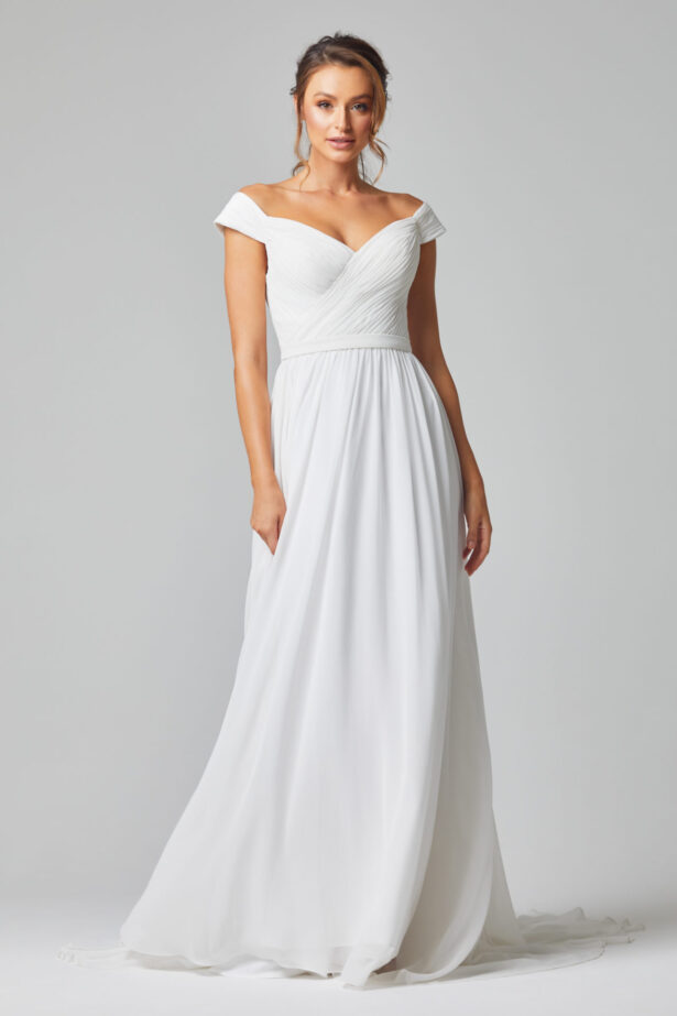 TC323 Annabelle wedding dress