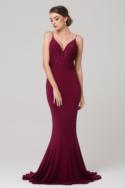 Liana Bridesmaid Dress Berry TO777