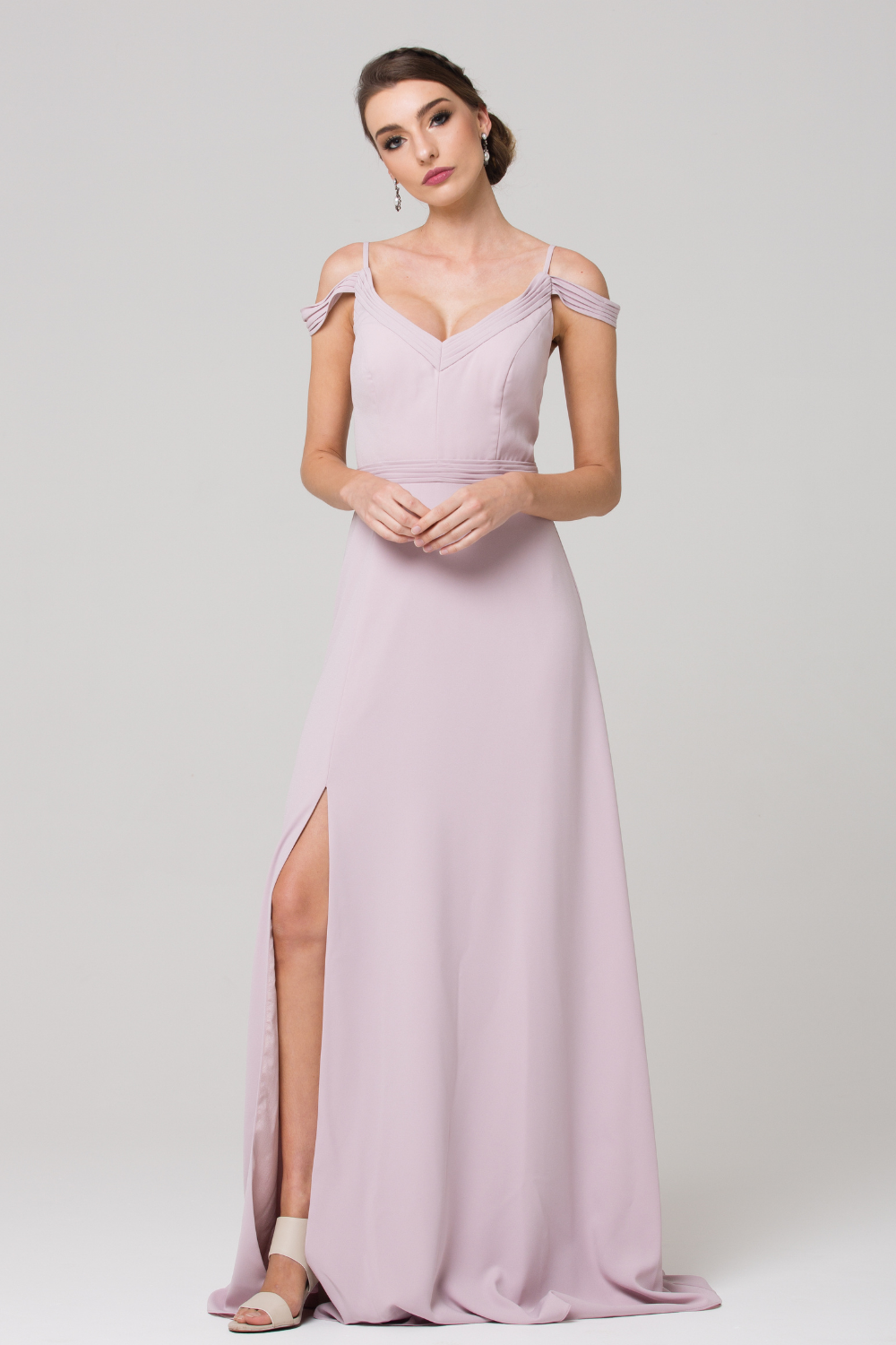 Natasha Bridesmaid Dress TO63 Petal Front