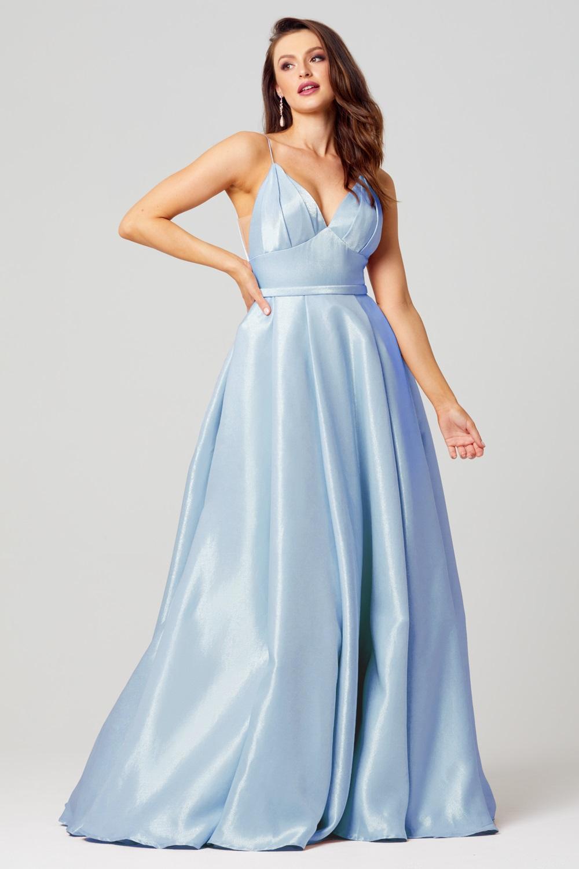 PO834 Leia formal dress Pale Blue