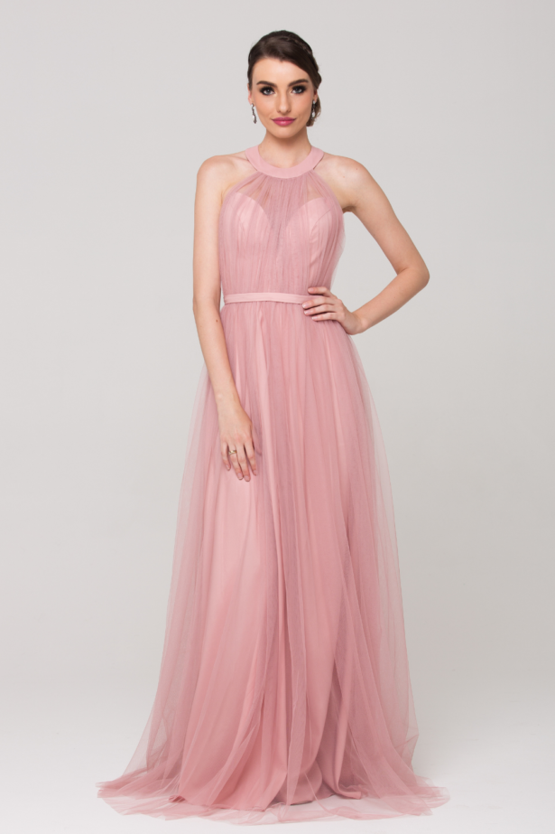 Paris Bridesmaid Dress PO73 Blush