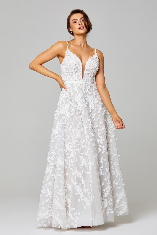 Amy Wedding Dress TC283 Front