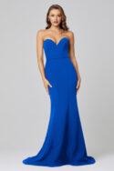 Lacie Strapless Mermaid Evening Dress PO886 Cobalt