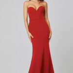 Lacie Strapless Mermaid Evening Dress PO886 Red