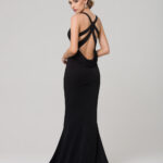 MAKENA FORMAL DRESS PO585 BLACK